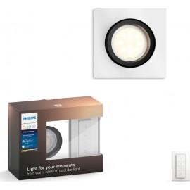 Philips Hue Milliskin LED recessed spot angular alu