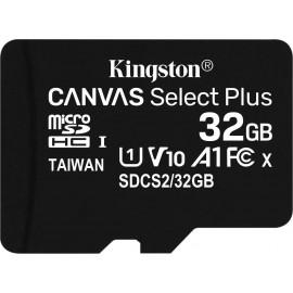 32GB Kingston Canvas Select Plus MicroSDHC 100MB/s
