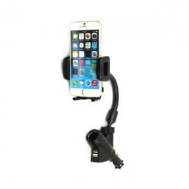Βάση Κινητού Τηλεφώνου για Αναπτήρα Αυτοκινήτου - Car Charger Holder