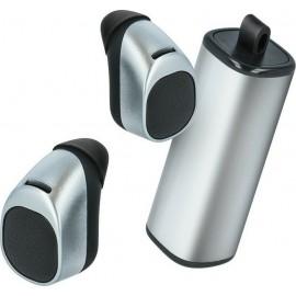 Forever TWE-200 In-ear Bluetooth Handsfree Ασημί