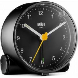 Braun BC 01 BW quartz alarm clock black