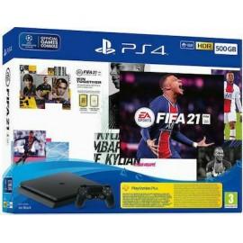 Sony PlayStation 4 Slim 500GB & FIFA 21 & FIFA 21 Voucher