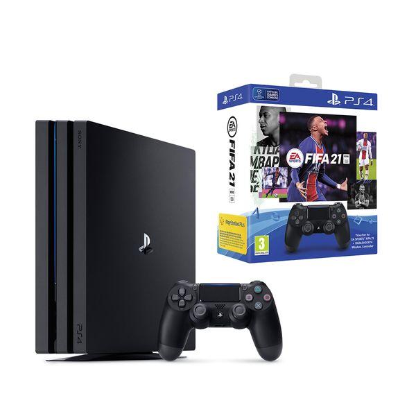 Sony Playstation 4 PRO 1TB + FIFA 21 + DUALSHOCK®4 Wireless Controller