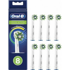 Braun Cross Action Clean Maximizer Toothbrush Heads 8τμχ