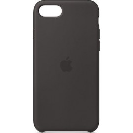 Apple Silicone Case Black (iPhone SE 2020/8/7)