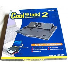 """Jetart NC5000 CoolStand 2 Notebook Cooler with 360"""" Rotation Base"""