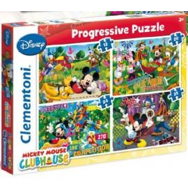 Disney: Mickey 12, 20, 24 & 35pcs Clementoni