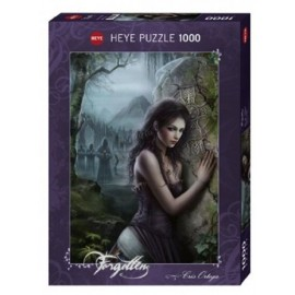 HEYE JIGSAW PUZZLE FORGOTTEN CELTIC CROSS CRIS ORTEGA 1000 PCS #29522