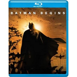 BATMAN BEGINS Blue-Ray (English subs)