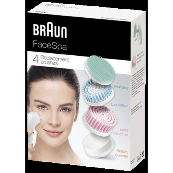 Braun Face Mix SE80mv 4 pcs.