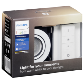 Philips Hue Milliskin LED Downlight round white