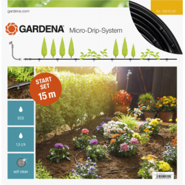Gardena Micro-Drip Start Set Row of Plants S