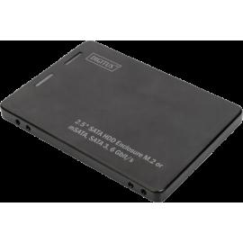 Digitus 2,5S ATA hard disk adap. M.2 o. mSATA 3 6 Gbit/s 520 MB/s