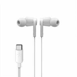 Belkin Rockstar In-Ear Headphone USB-C Connector wh. G3H0002btWHT