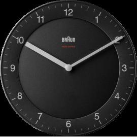 Braun BC 06 B-DCF radio wall clock black