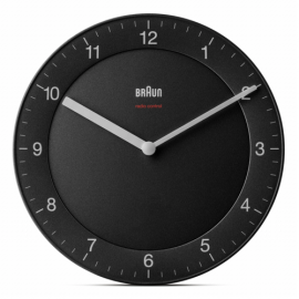 Braun BC 17 B-DCF radio wall clock black