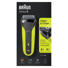 Braun Series 3 300s black/green