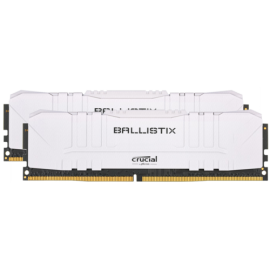 Ballistix 16GB Kit DDR4 2x8GB 2666 CL16 DIMM 288pin white
