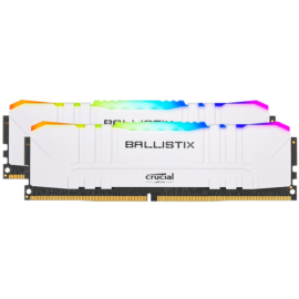 Ballistix 16GB Kit DDR4 2x8GB 3000 CL15 DIMM 288pin white RGB