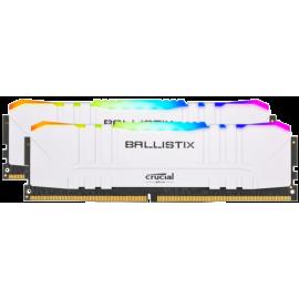 Ballistix 16GB Kit DDR4 2x8GB 3200 CL16 DIMM 288pin white RGB