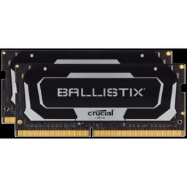 Ballistix 16GB Kit DDR4 2x8GB 2400 CL16 SODIMM 260pin black