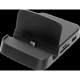 DIGITUS USB-C Smartphone Docking Station 6-Port