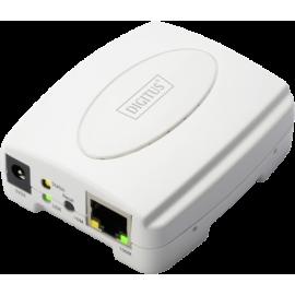 DIGITUS USB printer Server 1-Port 1x RJ45 1x USB A