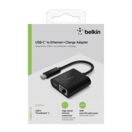 Belkin USB-C to Ethernet + Charge Adapter