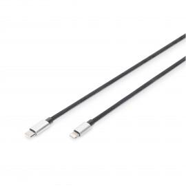 DIGITUS Cable Lightning-USB-C 1m
