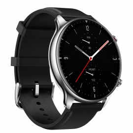 Amazfit GTR 2 Classic Black Stainless steel, Leather Straps