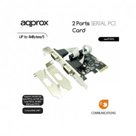 Approx 2 Ports Serial PCI Card up to 1 Mbytes/S + Low