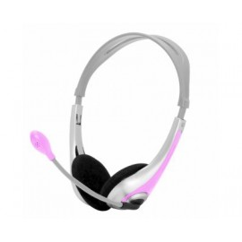 Approx PC Stereo Headset appHS02P Pink