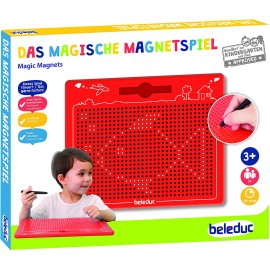 Beleduc 21042 - The Magical Magnetic Game,Red,280 x 255 x 12 mm