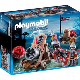 Playmobil Ιππότες του Γερακιού με Κανόνι 6038