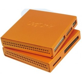 LogiLink CR0022 Cardreader USB 2.0 All-in-One Alu orange