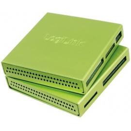 LogiLink CR0021 Cardreader USB 2.0 All-in-One Alu green