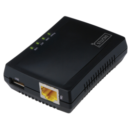 DIGITUS 1-Port USB 2.0 Multifunction Network Server
