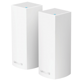 Linksys Velop Modular Wi-Fi System AC4400 2 Pack  WHW0302-EU