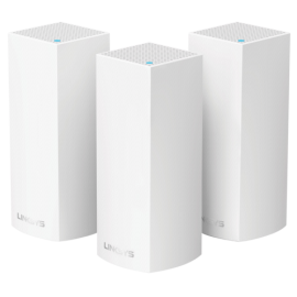 Linksys Velop Modular Wi-Fi System AC6600 3 Pack  WHW0303-EU