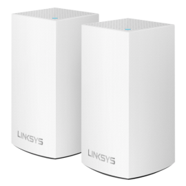 Linksys Velop Modular Dual Band Wi-Fi System AC2400 - 2 Pack