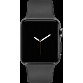 Apple Watch Series 3 GPS 42mm Grey Alu Black Sport Band