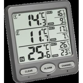 TFA 30.3062.10 Trio Wireless Thermometer