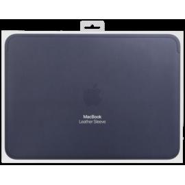 Apple Leather Sleeve 12-inch MacBook Midnight Blue Part