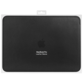 Apple Leather Sleeve 13-inch MacBook Pro Black