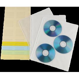 1x10 Hama CD Index Sleeves 49835