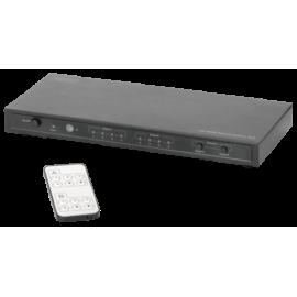 DIGITUS 4K HDMI Matrix Switch (4x2) with Audio Extraktor