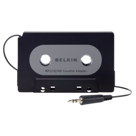 Belkin Cassette Adapter for MP3 Players  F8V366bt