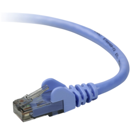 Belkin CAT 5 e network cable 0,5 m UTP blue snagless