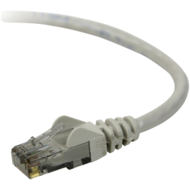 Belkin CAT 5 e network cable 10,0 m UTP grey snagless