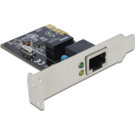 DeLock PCI Express Card 1 x Gigabit LAN